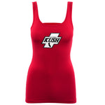 LA Kush Cross Women's Tank - Red/White
