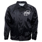 LA Kush Cross Nylon Jacket - Black/White