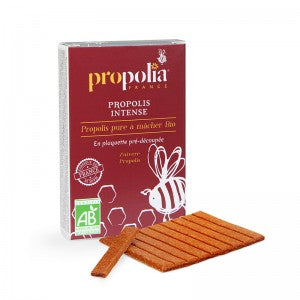 PROPOLIS PURE À MACHER BIO à PARIS - PLAQUETTE 10 G