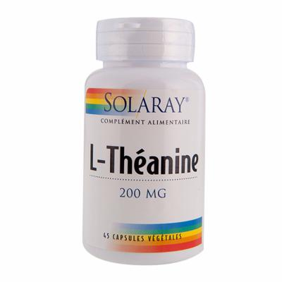 L-Théanine  à Paris 200mg Solaray 45 gélules