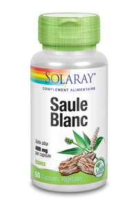Saule blanc à PARIS  400mg 60 gélules Solaray