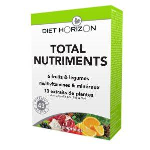 TOTAL NUTRIMENTS 30 comprimés - DIET HORIZON