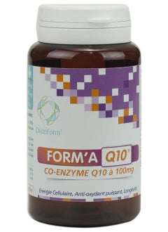 Co-enzyme q 10 à 100 mg  60 gélules -Distriform