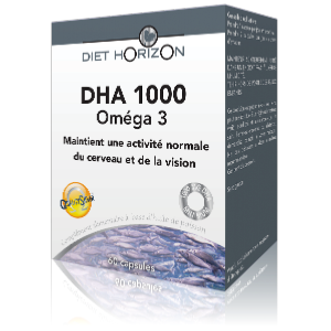 DHA 1000 Oméga 3  PARIS Diet Horizon