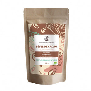 Fèves de Cacao crues bio 250 g