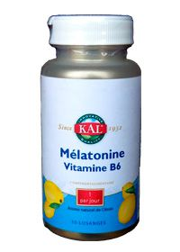 Mélatonine vitamine b6 SOLARAY
