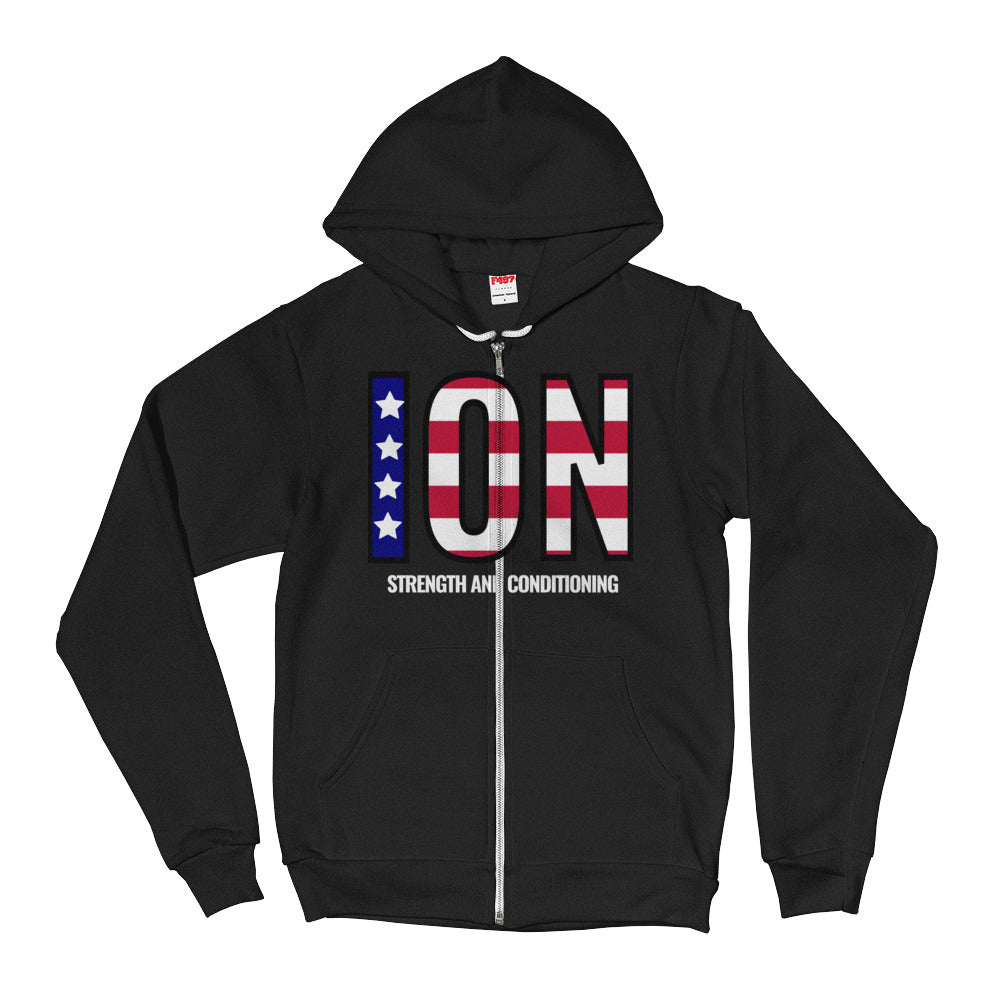 ION Strong and Free Zip hoodie