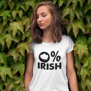 0% Irish Adult Tee