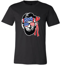 Load image into Gallery viewer, Ab Lincoln 4th of July Adult Tee