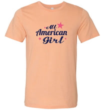 Load image into Gallery viewer, All American Girl Adult Tee