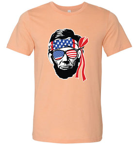 Ab Lincoln 4th of July Adult Tee
