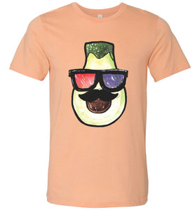 Artistic Avocado Adult Tee