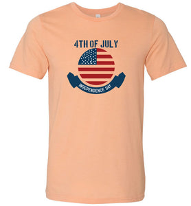 4th of July Independence Day #1 Adult Tee