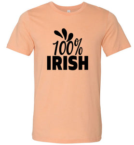 100% Irish Adult Tee