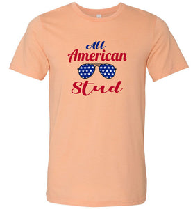 All American Stud Adult Tee