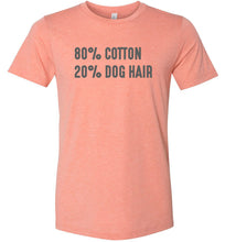 Load image into Gallery viewer, 80% Cotton 20% Dog Hair Adult Tee