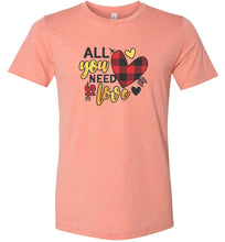 Load image into Gallery viewer, All You Need is Love #1 Adult Tee