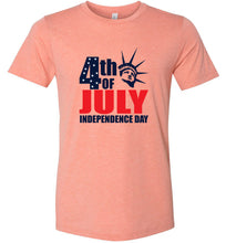 Load image into Gallery viewer, 4th of July Independence Day #2 Adult Tee
