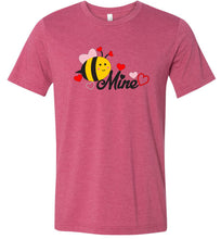 Load image into Gallery viewer, Bee Mine #6 Adult Tee