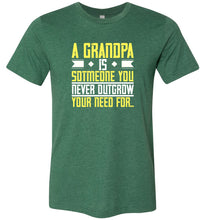 Load image into Gallery viewer, A Grandpa is Adult Tee
