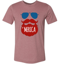 Load image into Gallery viewer, Beard 'merica #1 Adult Tee