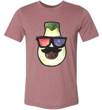 Load image into Gallery viewer, Artistic Avocado Adult Tee