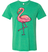 Load image into Gallery viewer, Artistic Flamingo #3 Adult Tee