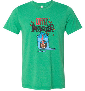 Coffee Monster Adult Tee