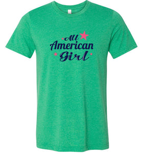 All American Girl Adult Tee
