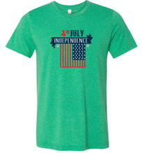 Load image into Gallery viewer, 4th of July Independence Adult Tee