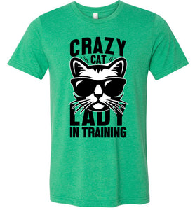 Crazy Cat Lady in Training Adult Tee