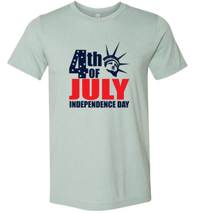 4th of July Independence Day #2 Adult Tee