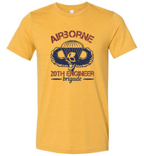 Load image into Gallery viewer, Airborne 20th Engineer Brigade Adult Tee
