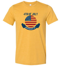 Load image into Gallery viewer, 4th of July Independence Day #1 Adult Tee