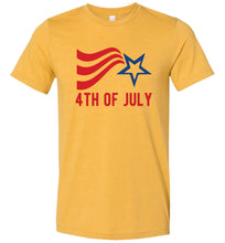 Load image into Gallery viewer, 4th of July Adult Tee