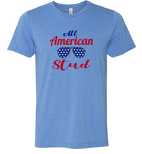 Load image into Gallery viewer, All American Stud Adult Tee