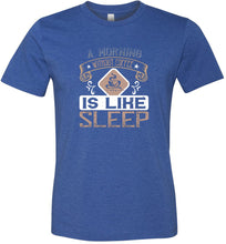 Load image into Gallery viewer, A Morning Without Coffee is Like Sleep #1 Adult Tee