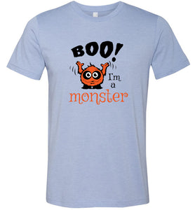 Boo I'm a Monster #2 Adult Tee
