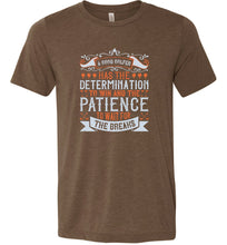 Load image into Gallery viewer, A Good Golfer has the Determination to Win Adult Tee