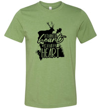 Load image into Gallery viewer, A Thankful Heart is a Happy Heart #3 Adult Tee