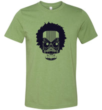 Load image into Gallery viewer, Artistic Skull with Hair Adult Tee