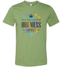 Load image into Gallery viewer, All Aboard the Hot Mess Express Adult Tee