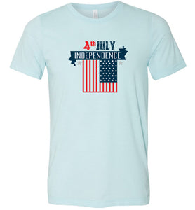 4th of July Independence Adult Tee
