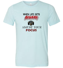 Load image into Gallery viewer, Adjust Your Focus Adult Tee