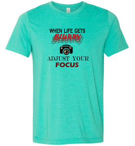 Adjust Your Focus Adult Tee