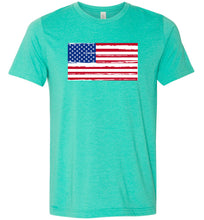 Load image into Gallery viewer, American Flag #4 Adult Tee