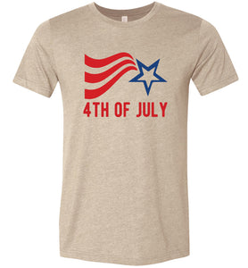 4th of July Adult Tee