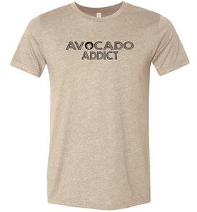Avocado Addict Adult Tee