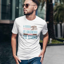 Load image into Gallery viewer, A Good Photograph is Knowing Where to Stand Adult Tee