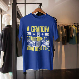 A Grandpa is Adult Tee